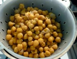 boiled hummus
