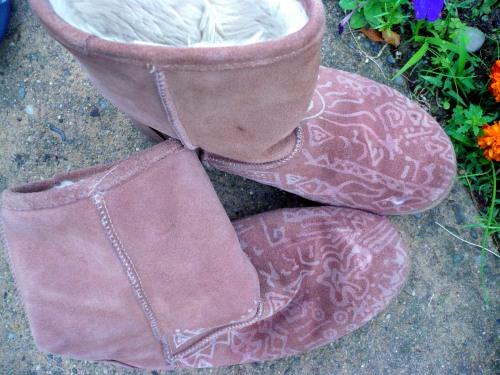booties- adorned