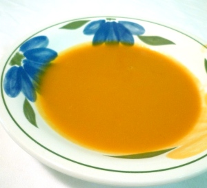 yummy orange soup