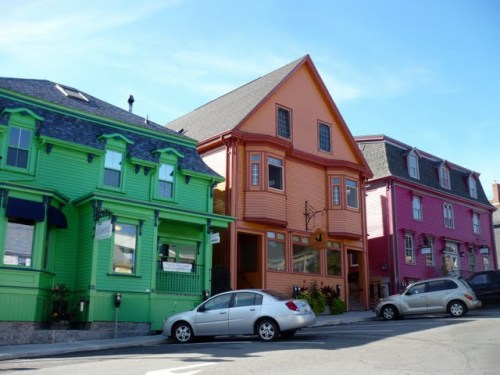 Old town of Lunenburg, UNESCO world haritege site