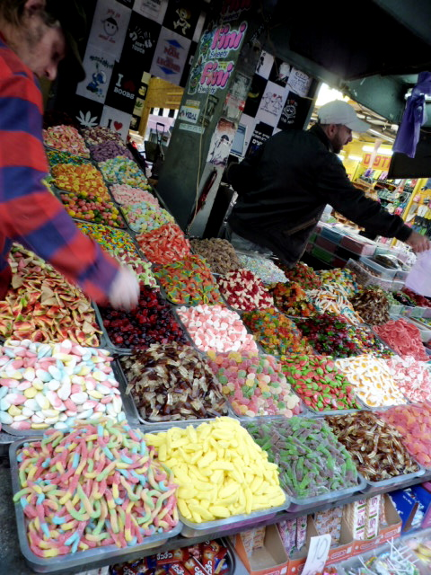 candy in the market