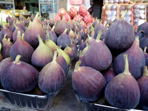 Shuk Ha'Carmel: figs