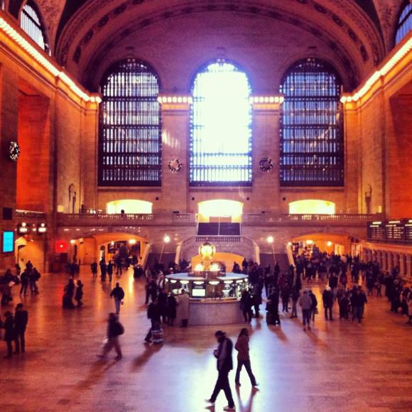 Grand Central Terminal- the big hall