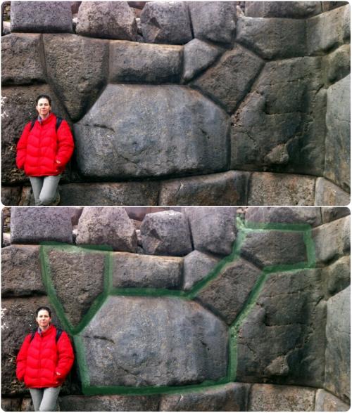 Saqsayhuaman. Can you spot the Llama?