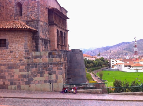and many churches in Cusco