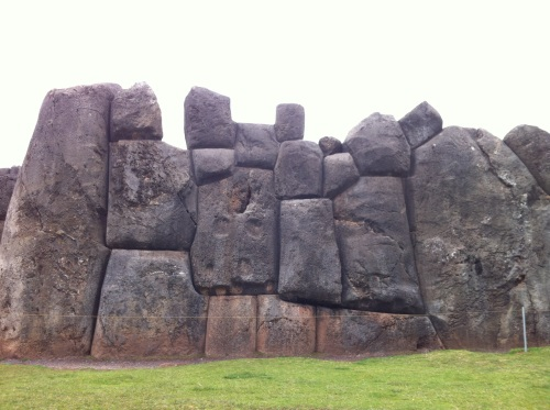 Saqsaywaman huge stones, each carved like a puzzle piece