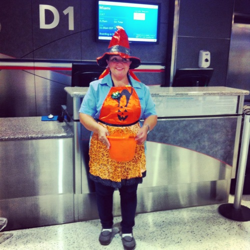 LaGuardia Airport celebrates Halloween