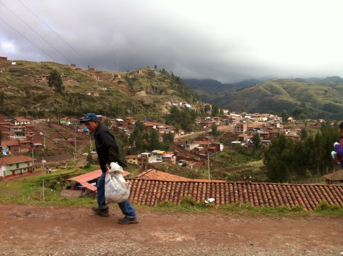 Hills surrounding Cusco