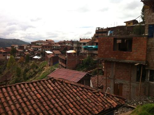 Cusco suburbia