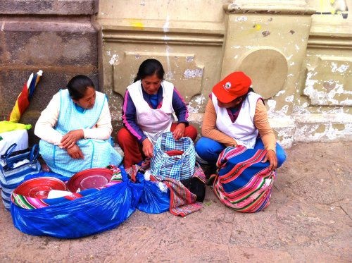 Quechuan women