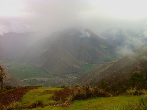 surrounded by majestic mountains is the Sacred Valley