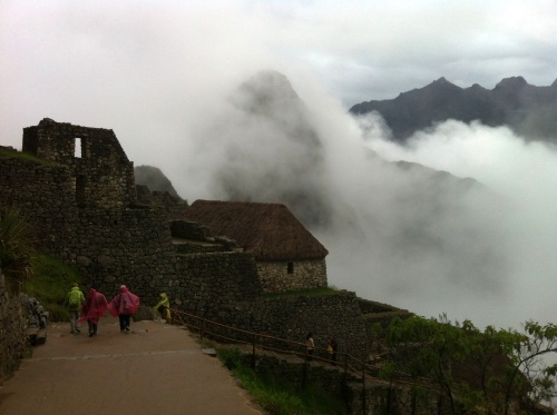 Good morning clouds of Machu Picchu