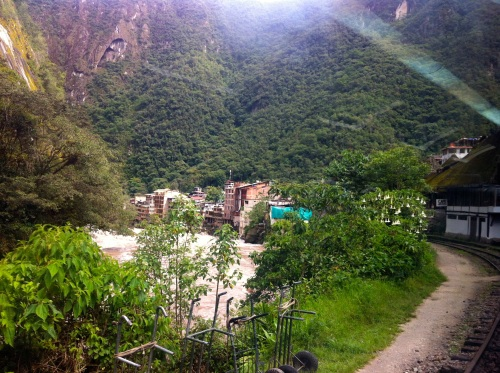 spotting Aguas Calientes