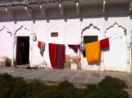 One of the temples, also a place for yoga