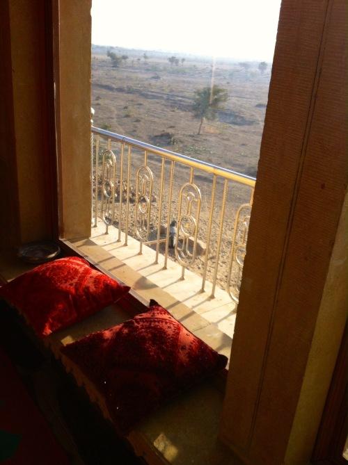 window to desert