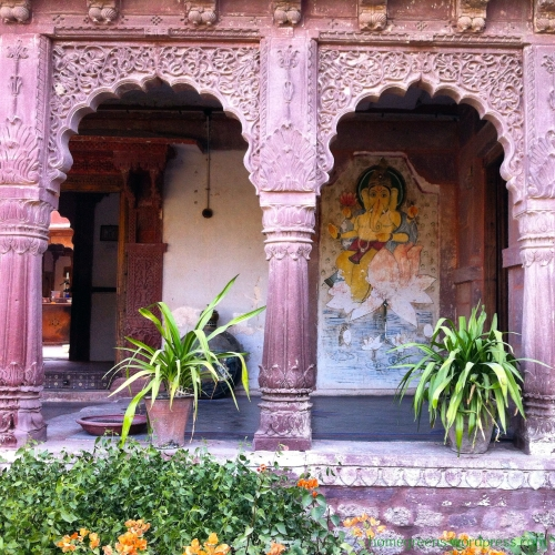 detail of Chandelao Garh, our Haveli in Chandelao village