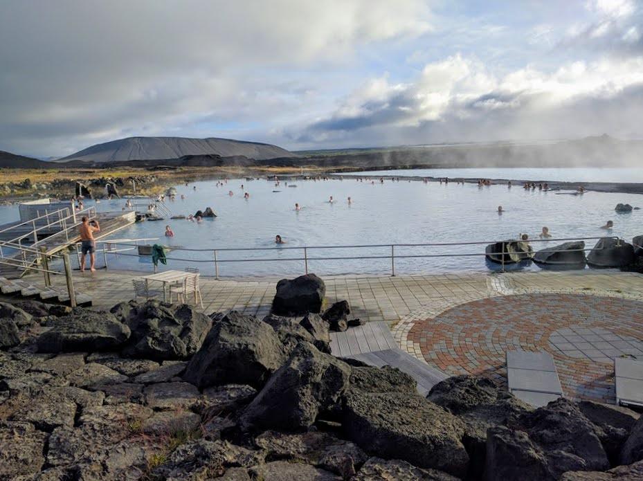 Mývatn Nature Baths, Northern Iceland. Photo credit: Judy Shacham